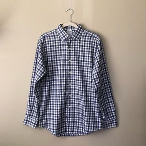 Brooks Brothers 346 Slim Fit Checkered Button Down